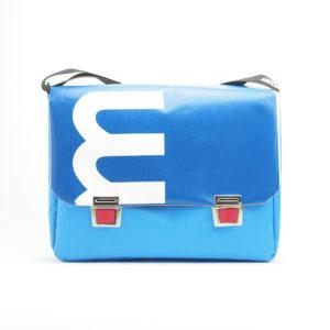 Messengerbag aus Upcyclingplane bolsos berlin