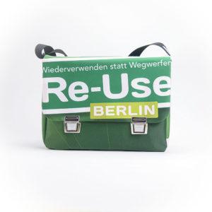 Messengerbag, Umhängetasche aus Upcyclingplane