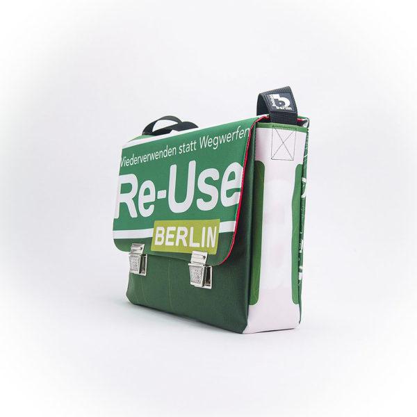 Messengerbag aus Upcyclingplane