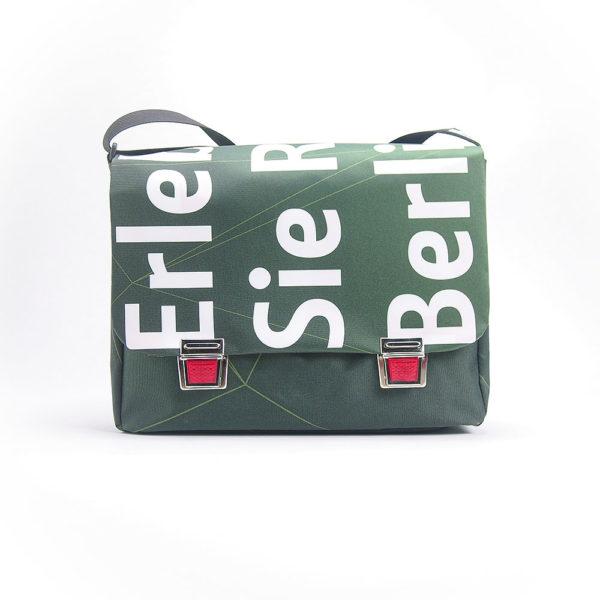 Umhängetasche, Messengerbag, Tasche aus Upcyclingplane